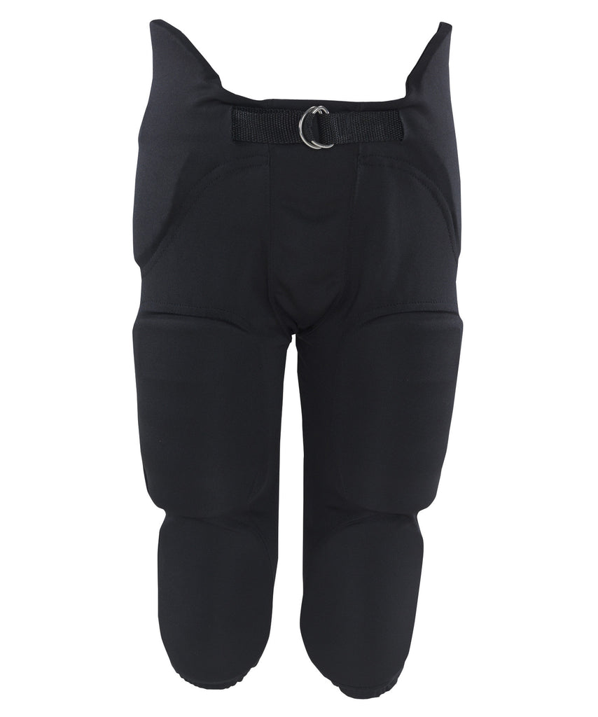 Russell Athletic Youth Integrated 7 Piece Pad Pants - Black Selected