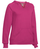 Russell Athletic Women's Fleece Pullover Hoodie - Watermelon Pink