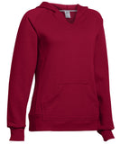 Russell Athletic Women's Fleece Pullover Hoodie - Cardinal