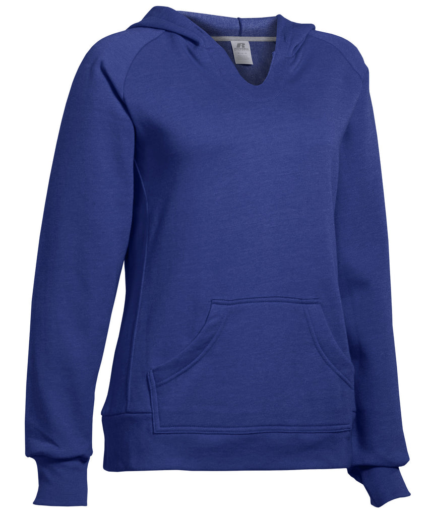 Russell Athletic Women's Fleece Pullover Hoodie - Navy Selected