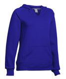 Russell Athletic Women's Fleece Pullover Hoodie - Royal