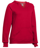 Russell Athletic Women's Fleece Pullover Hoodie - True Red