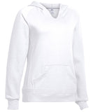 Russell Athletic Women's Fleece Pullover Hoodie - White