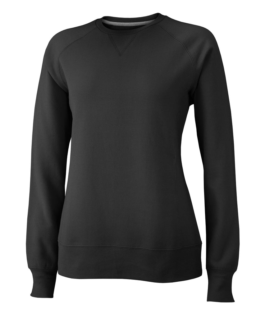 Russell Athletic Women's Fleece Crew - Black Selected