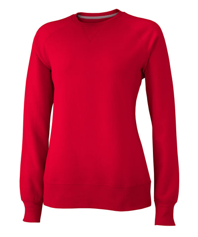 Russell Athletic Women's Fleece Crew - True Red