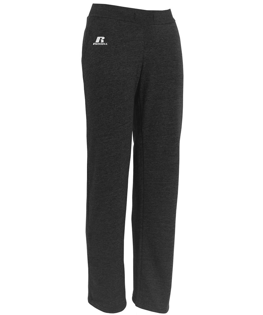 Russell Athletic Women's Lightweight Fleece Pants - Black Selected