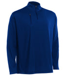 Russell Athletic Men's Stretch Performance 1/4 Zip Pullover - Navy