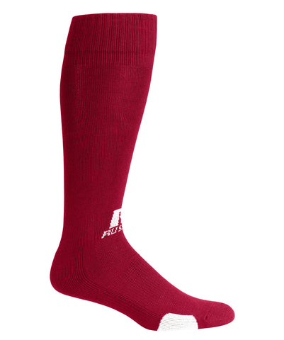 Russell Athletic All Sport Socks - Cardinal/White
