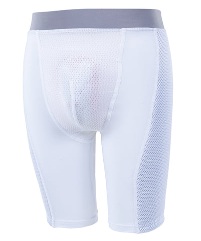 Russell Athletic Youth Padded Sliding Shorts - White
