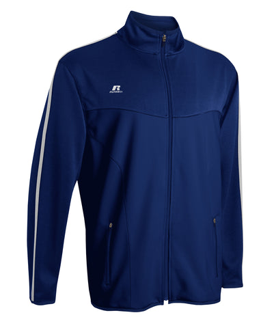 Russell Athletic Men's Gameday Full Zip Jacket - Navy/White