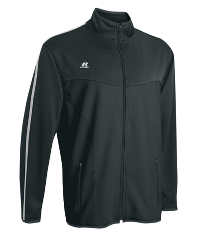 Russell Athletic Women's Gameday Full Zip Jacket - Stealth/White