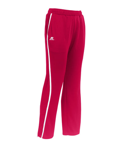 Russell Athletic Youth Team Gameday Warmup Pants - True Red/White