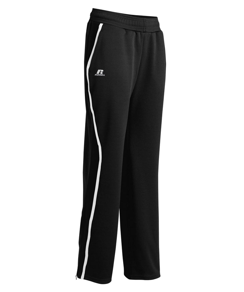 Russell Athletic Women's Gameday Sideline Pants - Black/White Selected