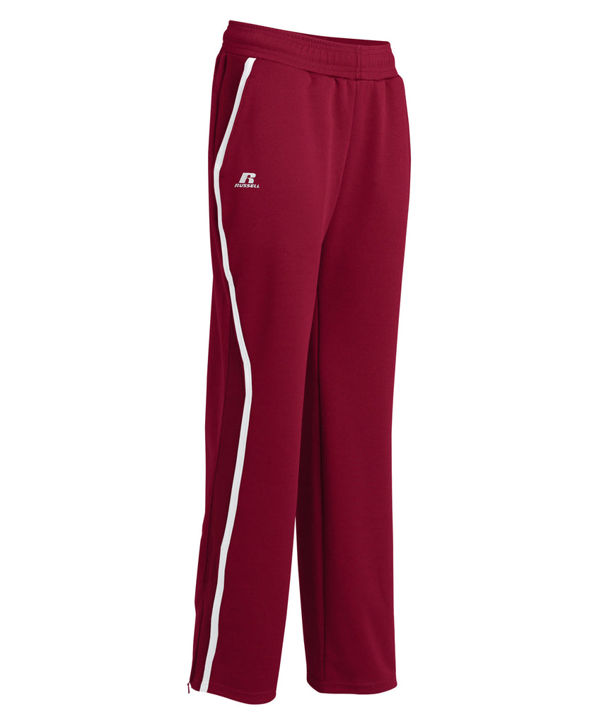 Russell Athletic Women's Gameday Sideline Pants - Cardinal/White Selected