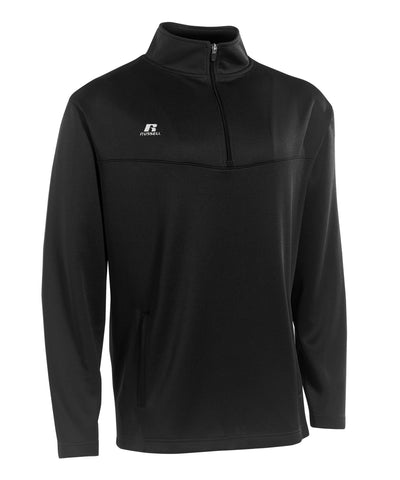 Russell Athletic Men's 1/4 Zip Pullover - Black