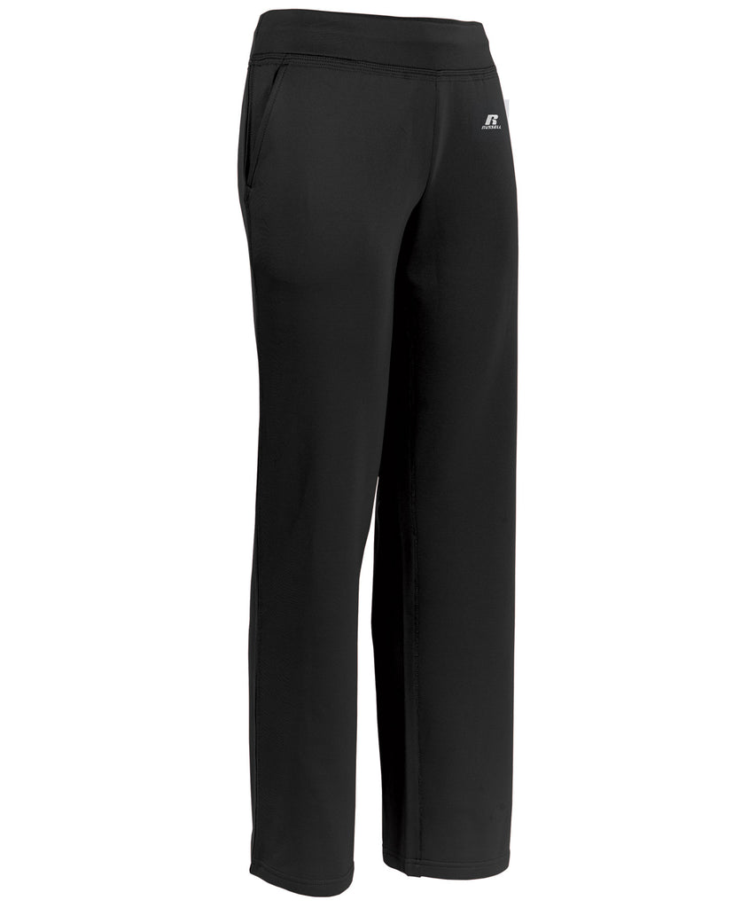 Russell Athletic Women's Tech Fleece Pants - Black Selected