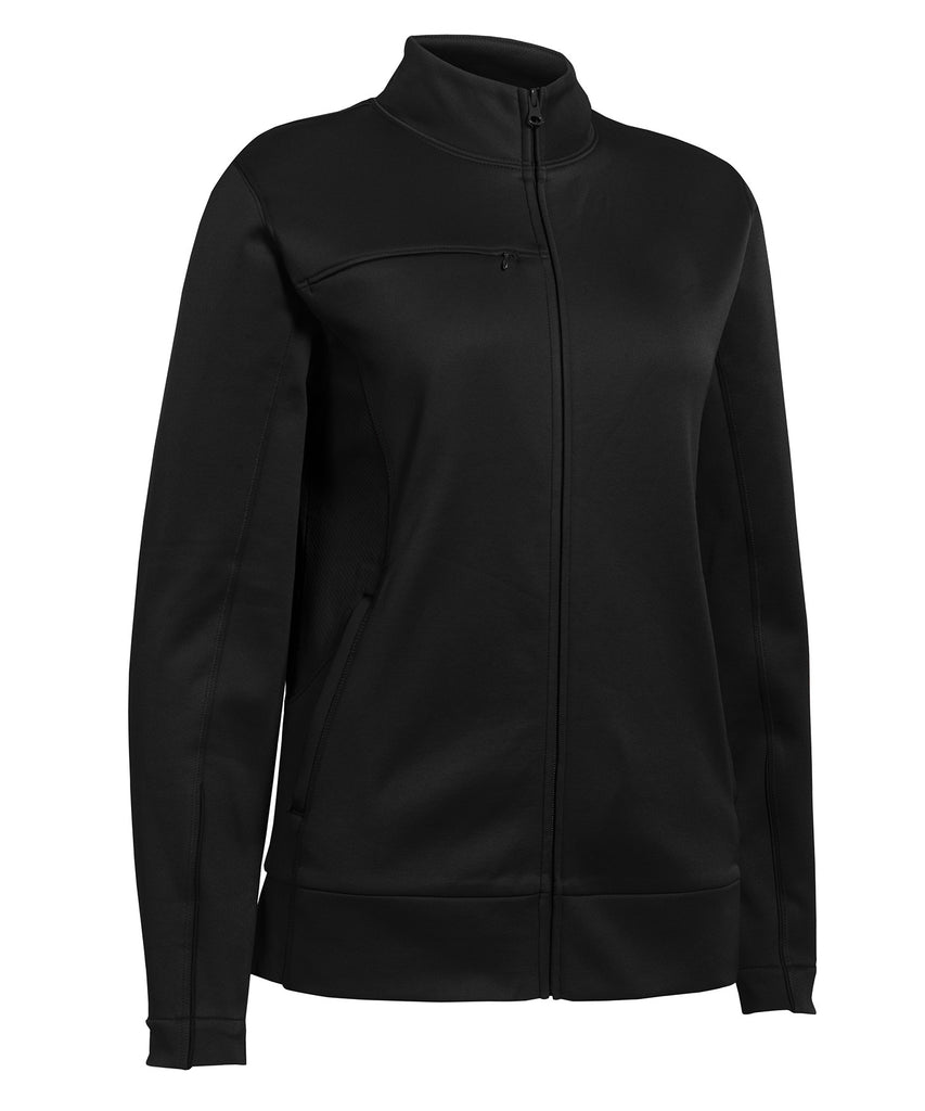 Russell Athletic Women's Tech Fleece Full Zip Jacket - Black Selected