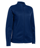 Russell Athletic Women's Tech Fleece Full Zip Jacket - Navy