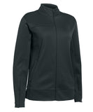 Russell Athletic Women's Tech Fleece Full Zip Jacket - Stealth