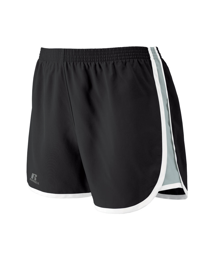 "Russell Athletic Women's 3"" Inseam Shorts - Black Selected"