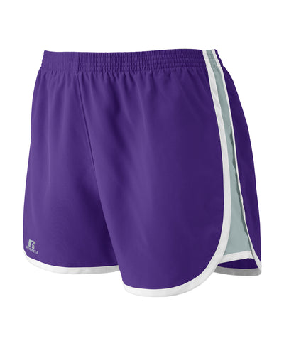 "Russell Athletic Women's 3"" Inseam Shorts - Purple"