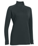 Russell Athletic Women's Stretch Performance 1/4 Zip Pullover - Stealth