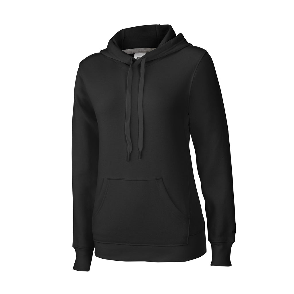 Russell Athletic Women's Fleece Pullover Hood - Black Selected