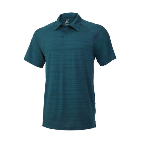 Russell Athletic Men's Fashion Polo - Shaded Spruce