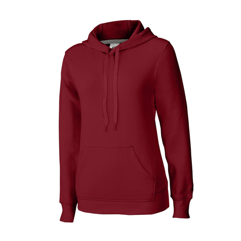 Russell Athletic Women's Fleece Pullover Hood - Cardinal