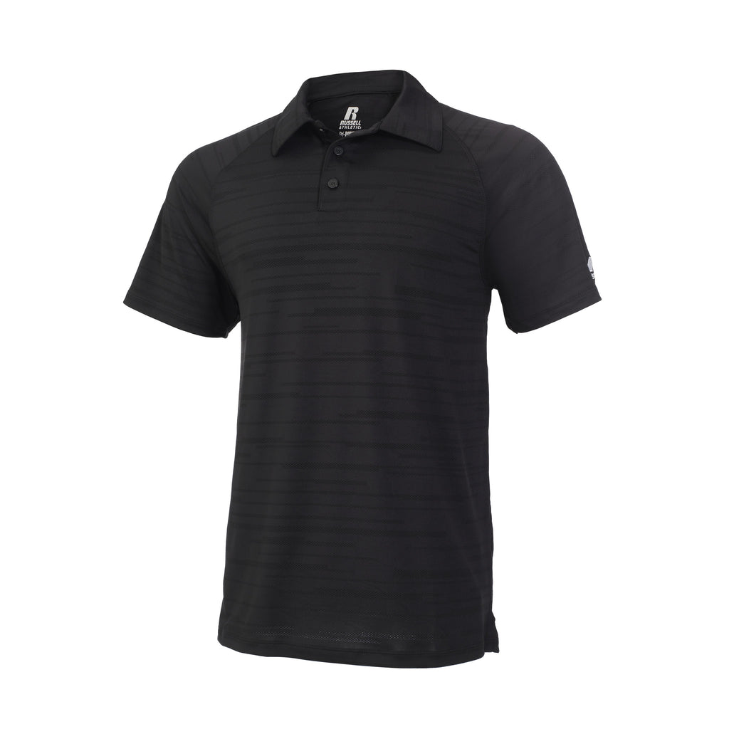 Russell Athletic Men's Fashion Polo - Black Selected