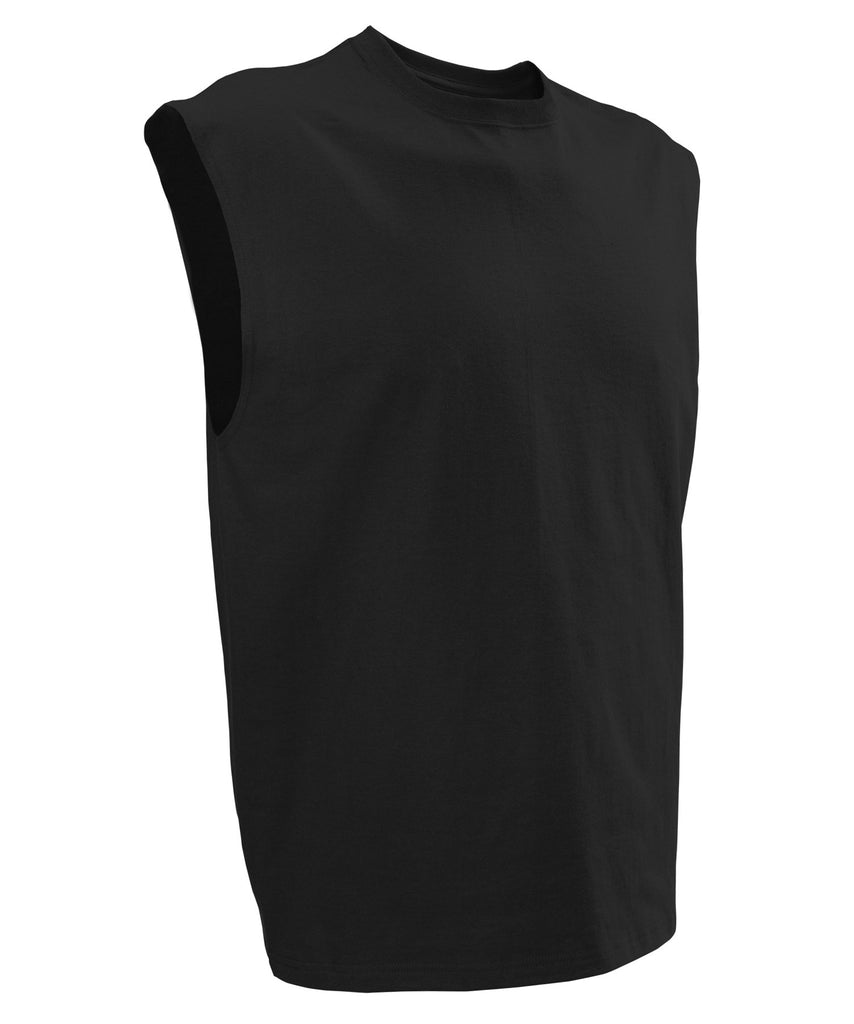 Russell Athletic Men's Athletic Sleeveless Tee - Black