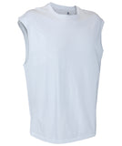 Russell Athletic Men's Athletic Sleeveless Tee - White