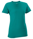 Russell Athletic Women's Campus Short Sleeve Tee - Aqua
