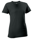 Russell Athletic Women's Campus Short Sleeve Tee - Black