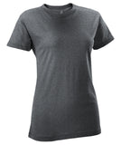Russell Athletic Women's Campus Short Sleeve Tee - Black Heather