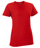 Russell Athletic Women's Campus Short Sleeve Tee - True Red