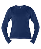 Russell Athletic Women's Campus Long Sleeve Tee - Navy