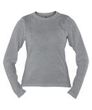 Russell Athletic Women's Campus Long Sleeve Tee - Oxford