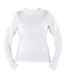 Russell Athletic Women's Campus Long Sleeve Tee - White