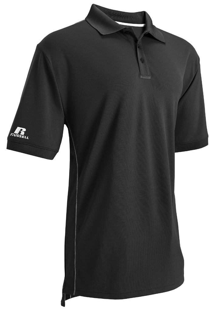 Russell Athletic Men's Essential Polo - Black Selected