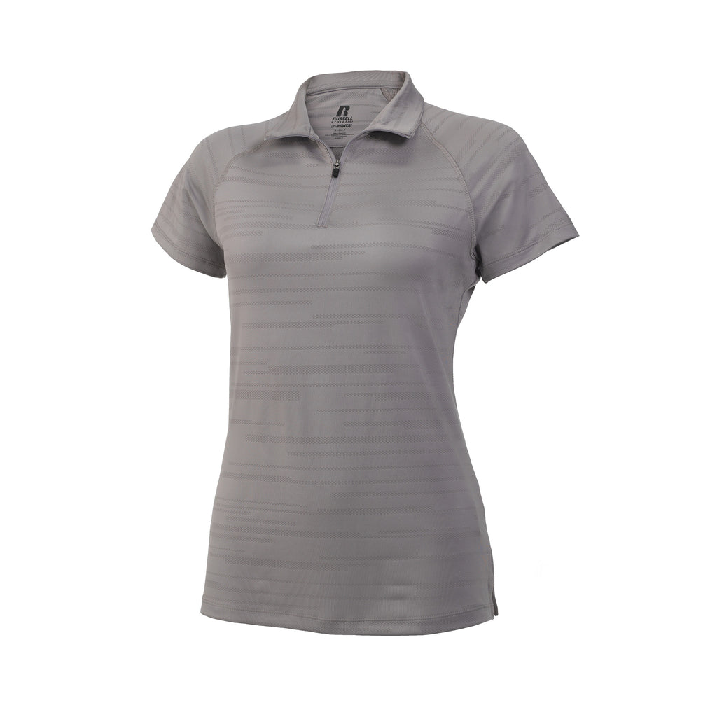 Russell Athletic Women's Fashion Polo - Rock Selected