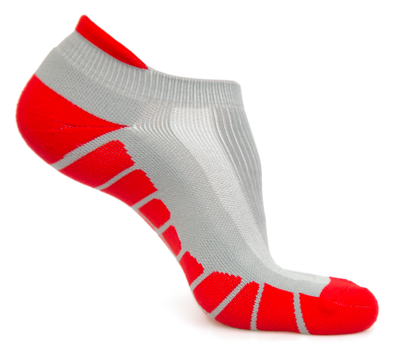 NO-SHOW RUNNING SOCKS - Grey
