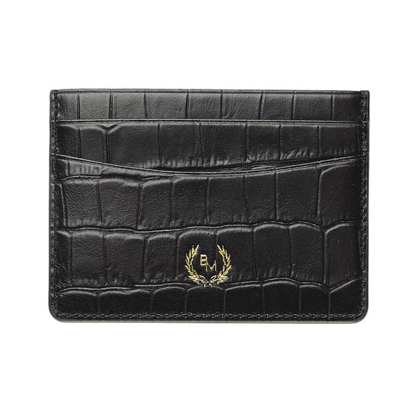 Credit Card Holder - Croco: - BOGMAR