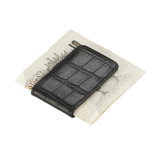 Money Clip - Croco: - BOGMAR