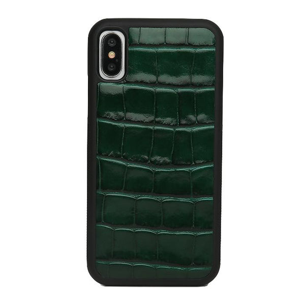 iPhone Case - Croco: Green - Croco / 11 Pro Max - BOGMAR