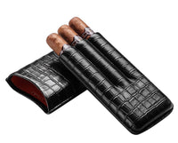 Cigar Case - Croco: Tripple - BOGMAR