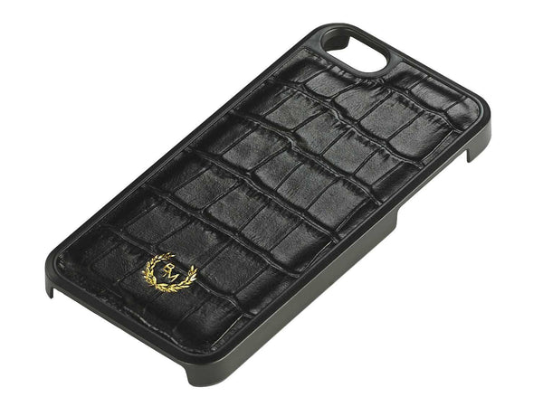 iPhone Case - Croc Embossed: Black - Croco / SE / 5 / 5S - BOGMAR