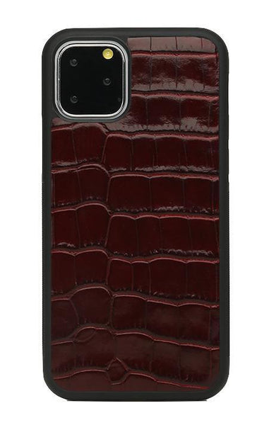 iPhone Case - Croco: Burgundy - Croco / 11 Pro Max - BOGMAR