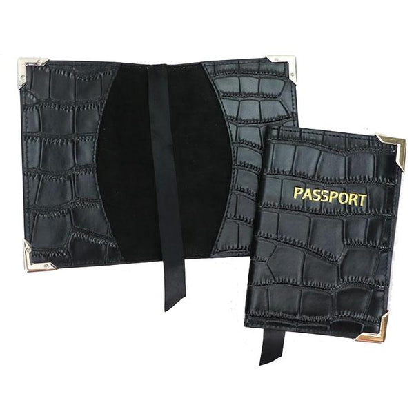 Passport Cover - Croco: - BOGMAR