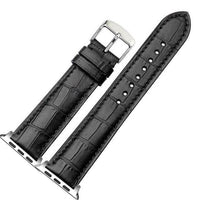 Apple Watch Band - Croco: Black - Croco / 42/44mm - BOGMAR